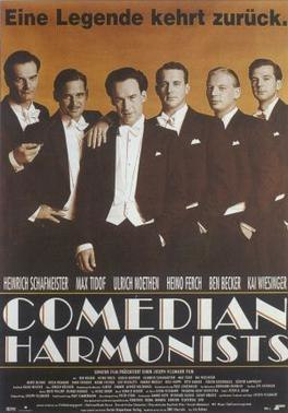 Comedian Harmonists Filmposter