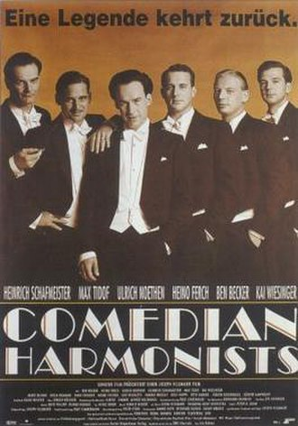Comedian Harmonists (film) - Image: Comedian Harmonists Filmposter