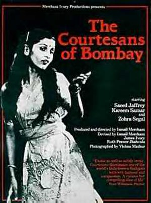 The Courtesans of Bombay - American release poster