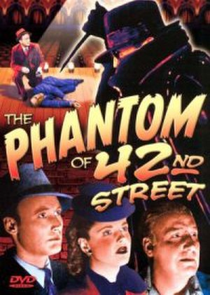 The Phantom of 42nd Street - DVD cover