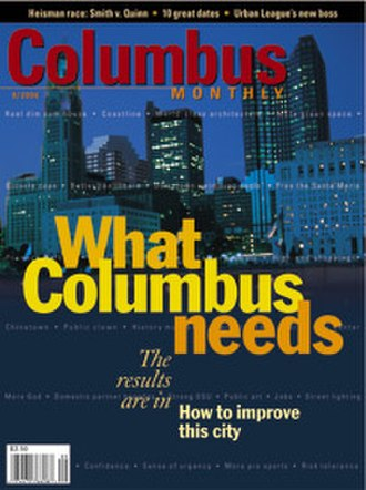 Columbus Monthly - Image: Cover sep 06