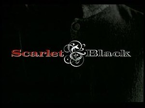 Scarlet and Black (TV series) - Image: DVD Title S&B
