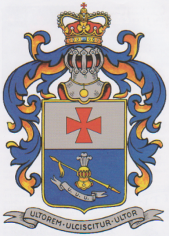 Danish Order of Freemasons - Coat of arms of the Danish Order of Freemasons, made in the 2010s and based on the previous one from 1974