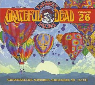 <i>Daves Picks Volume 26</i> 2018 live album by Grateful Dead