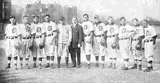 DePaul University - DePaul University's baseball team (1908)