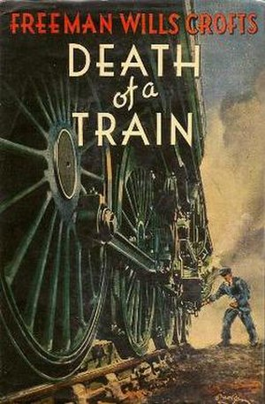 Death of a Train - First Edition cover