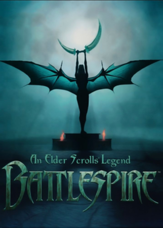 An Elder Scrolls Legend: Battlespire - North American cover art