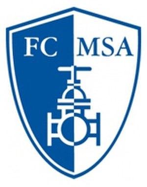 FC Dolní Benešov - Image: FC MSA Dolní Benešov logo