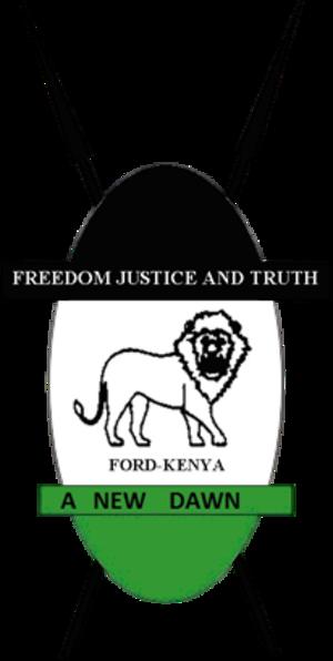 Forum for the Restoration of Democracy – Kenya - Image: FORD KENYA logo