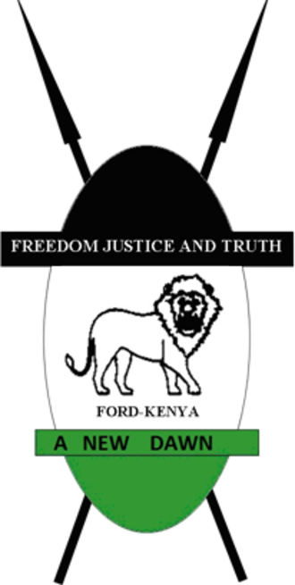 Forum for the Restoration of Democracy – Kenya - Image: FORD KENYA logo