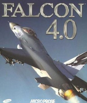 Falcon 4.0 - The European box of Falcon 4.0.