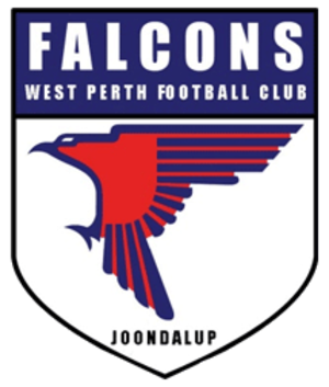 West Perth Football Club - Image: Falconslogo