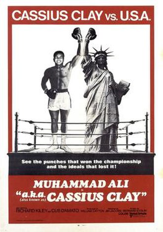 A.k.a. Cassius Clay - Theatrical release poster