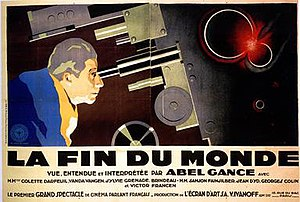 End of the World (1931 film) - Quad poster under original French title