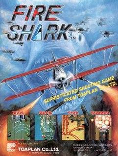 <i>Fire Shark</i> 1990 video game