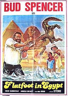 <i>Flatfoot in Egypt</i> 1980 film by Stefano Vanzina