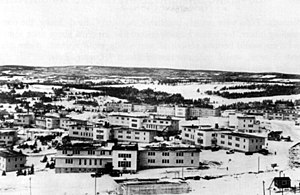 Pepperrell Air Force Base - Barracks at Fort Pepperrell