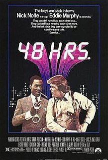 <i>48 Hrs.</i> 1982 film by Walter Hill