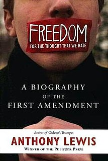 <i>Freedom for the Thought That We Hate</i> 2007 non-fiction book