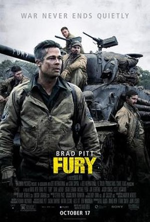 Fury (2014 film) - Theatrical release poster