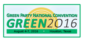 2016 Green National Convention - Image: GP Con 2016