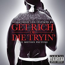 Get Rich or Die Tryin' Soundtrack - CD album cover.jpg