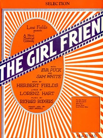 The Girl Friend - Sheet Music