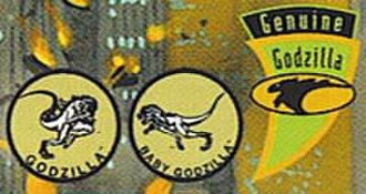 Zilla (TriStar Godzilla) - Toho's and Sony's trademarks for TriStar's Godzilla and Baby Godzilla.