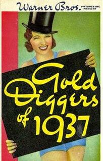 <i>Gold Diggers of 1937</i> 1936 film by Busby Berkeley, Lloyd Bacon