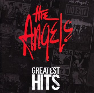 Greatest Hits (The Angels album) - Image: Greatest Hits (Album Cover)