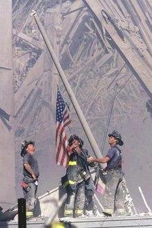 8641e95af47 Raising the Flag at Ground Zero - Wikipedia