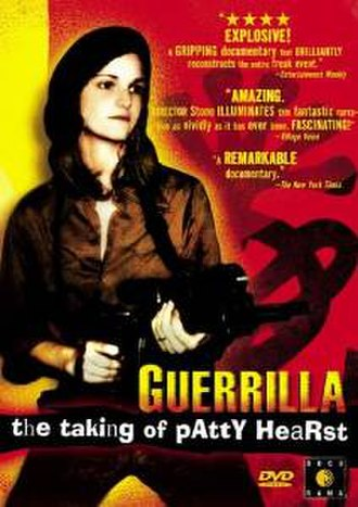 Guerrilla: The Taking of Patty Hearst - DVD cover.