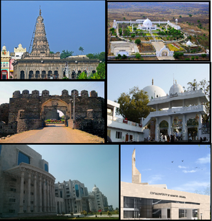 Gulbarga City in Karnataka, India