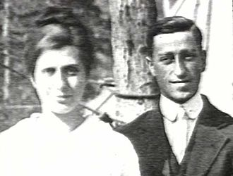"Aimee Semple McPherson - Aimee Semple and her second husband Harold McPherson. For a time Harold traveled with his wife Aimee in the ""Gospel Car""as an itinerant preacher, helping her to set up tents for revival meetings."