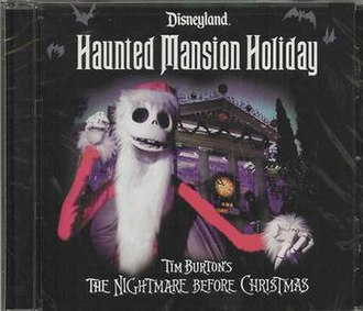 Haunted Mansion Holiday - CD Cover Artwork
