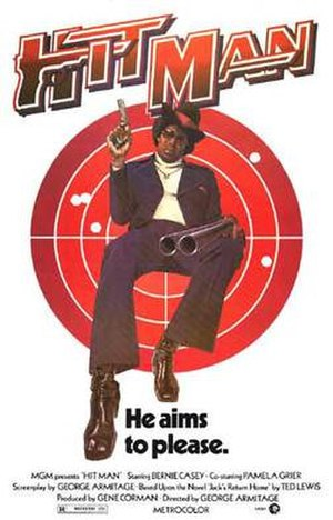 Hit Man (film) - Theatrical release poster