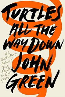 <i>Turtles All the Way Down</i> (novel) 2017 young adult novel by John Green