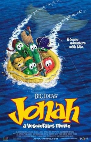 Jonah: A VeggieTales Movie - Theatrical release poster