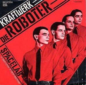 The Robots - Image: Kraftwerk Die Roboter Cover