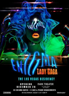 Lady Gaga Enigma Residency show