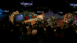 Late Night with Jimmy Fallon - Show set in January 2011