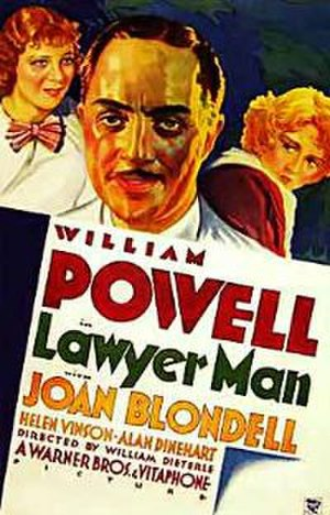 Lawyer Man - Theatrical Poster