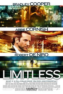 Limitless Poster.jpg. Theatrical release poster 02a7bebf0