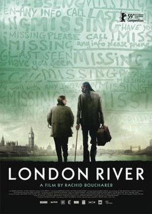 London River - Theatrical poster