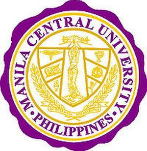Manila Central University - Official seal