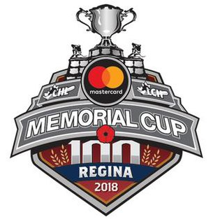 2018 Memorial Cup Canadian ice hockey event