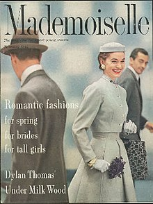 Mademoiselle (magazine) February 1954 cover.jpg