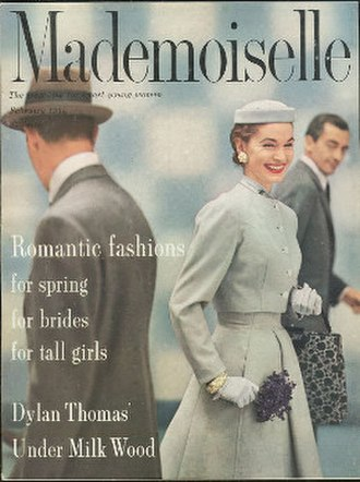 Mademoiselle (magazine) - February 1954 cover