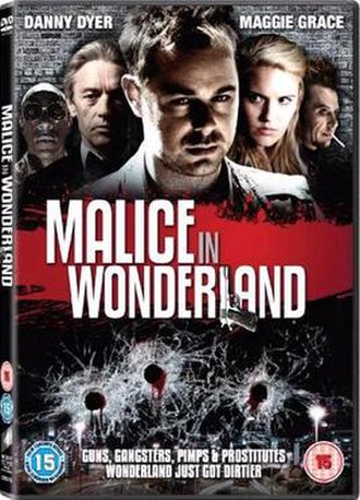 Malice in Wonderland (2009 film) - Malice In Wonderland DVD cover