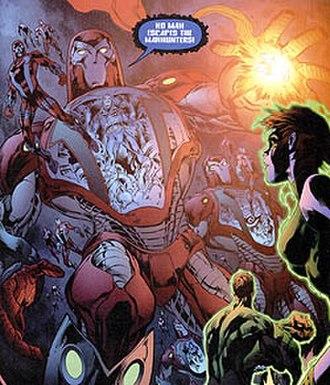 Manhunters (DC Comics) - Image: Manhunters 2006